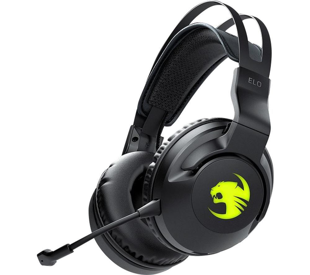 ROCCAT Elo Wireless 7.1 Gaming Headset - Black