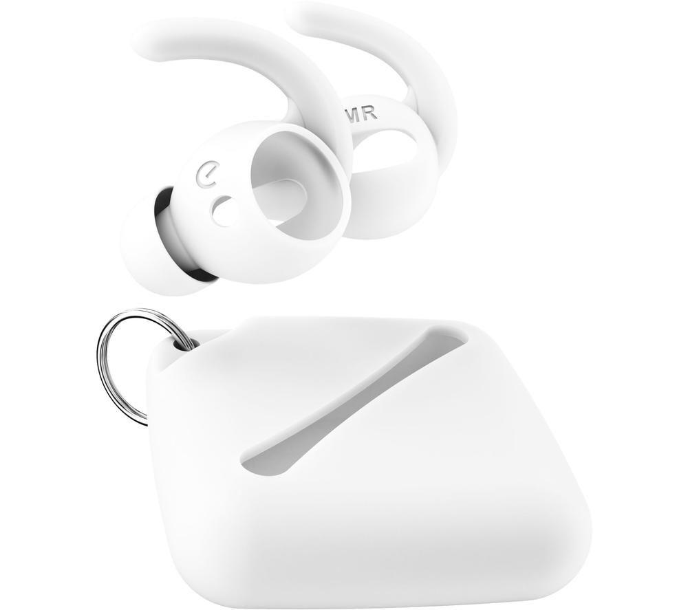 KEYBUDZ EarBuddyz Ultra AirPods Earhooks - White, White