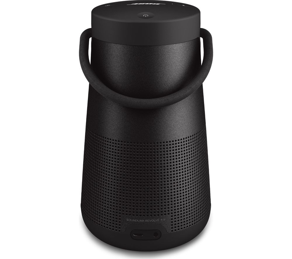 BOSE SoundLink Revolve II Portable Bluetooth Wireless Speaker - Triple Black, Black