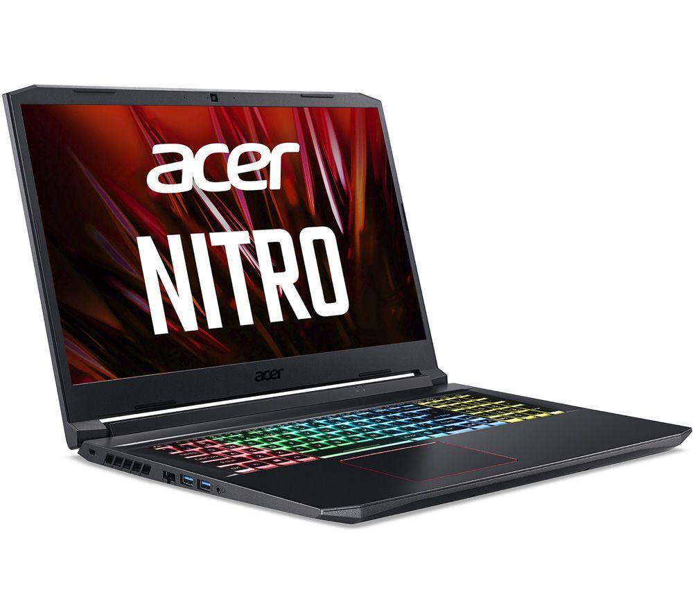 "ACER Nitro 5 17.3"" Gaming Laptop - Intel® Core™ i7, RTX 3060, 256 GB SSD"