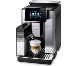 PrimaDonna Soul ECAM610.75 Smart Bean to Cup Coffee Machine - Silver & Black
