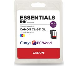 ESSENTIALS Tri-colour Canon Ink Cartridge