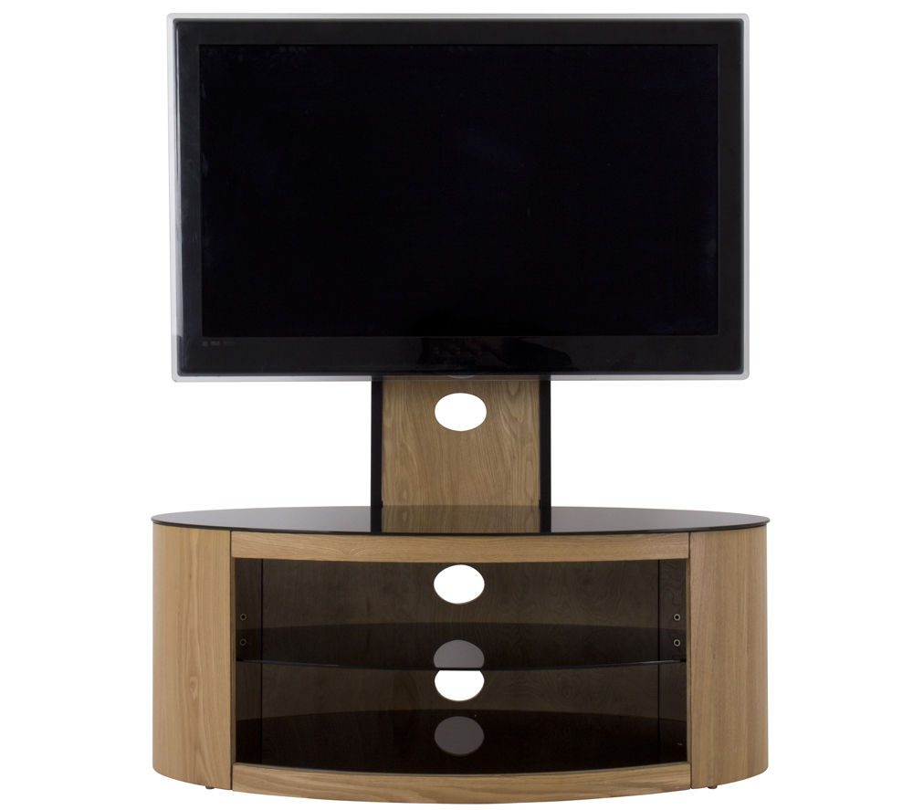buy avf buckingham 1000 mm tv stand with bracket oak free delivery currys. Black Bedroom Furniture Sets. Home Design Ideas