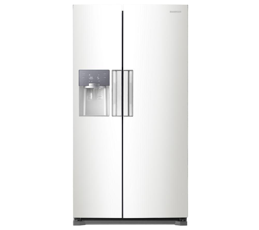 samsung fridge freezer. samsung rs7667fhcww american-style fridge freezer - white samsung 4