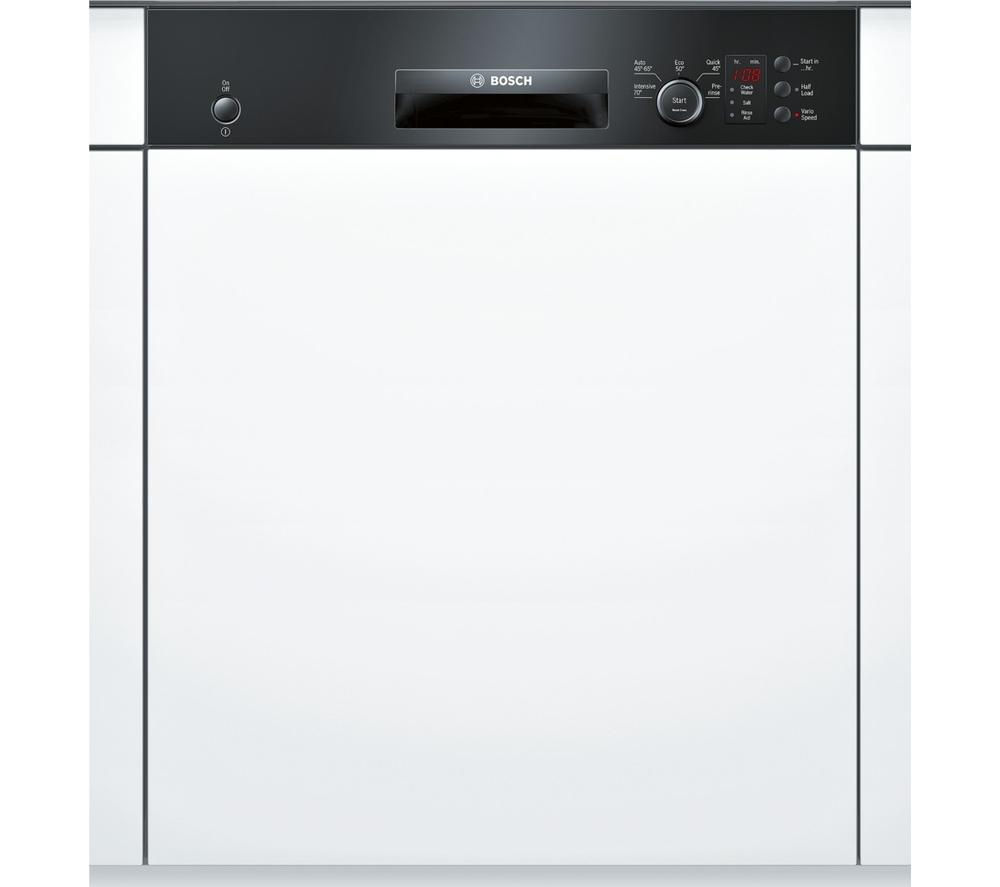 BOSCH Serie 4 SMI50C16GB Full-size Semi-integrated Dishwasher