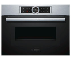 Serie 8 CMG633BS1B Built-in Combination Microwave – Stainless Steel