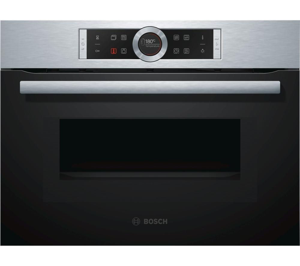 BOSCH Serie 8 CMG633BS1B Built-in Combination Microwave – Stainless Steel