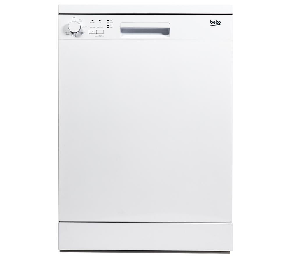 Compare prices for Beko DFN05X10W Full-size Dishwasher