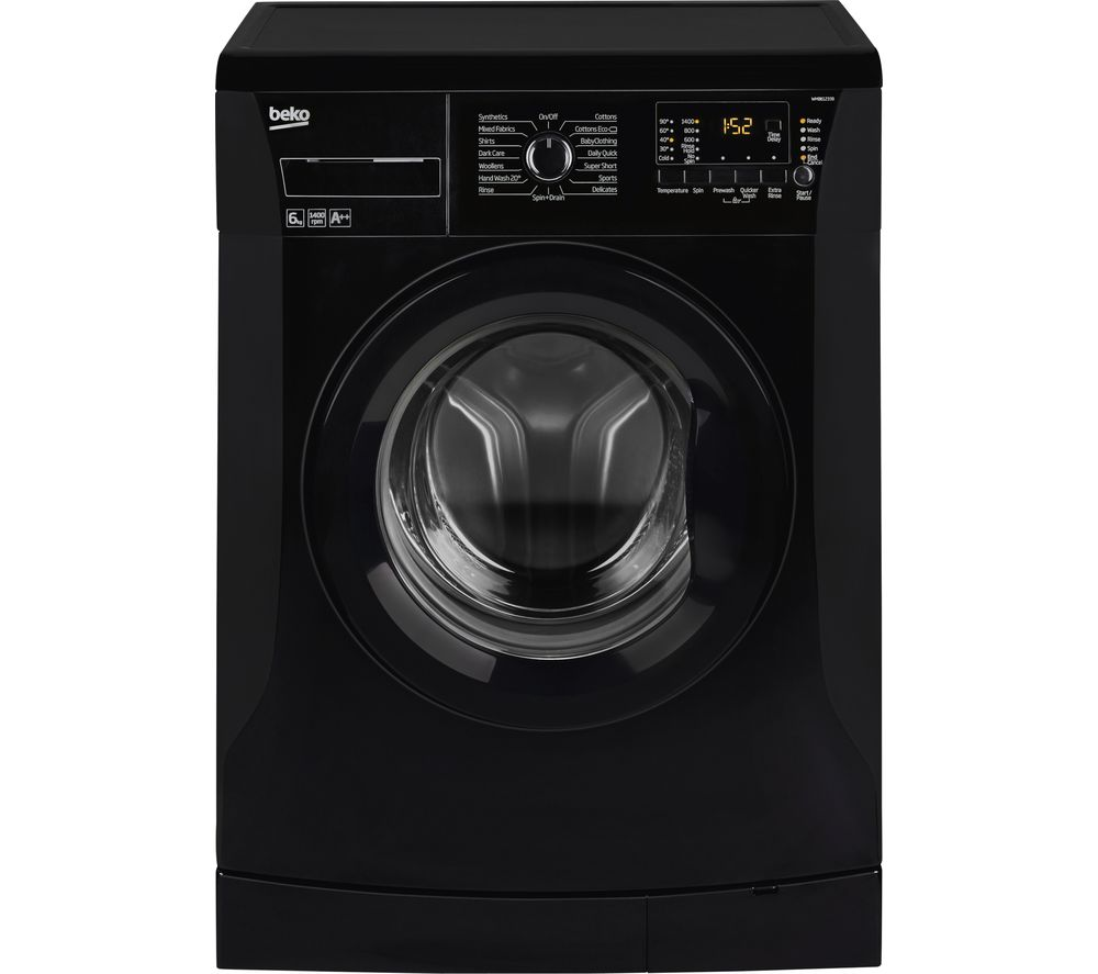 BEKO WMB61432B Washing Machine - Black