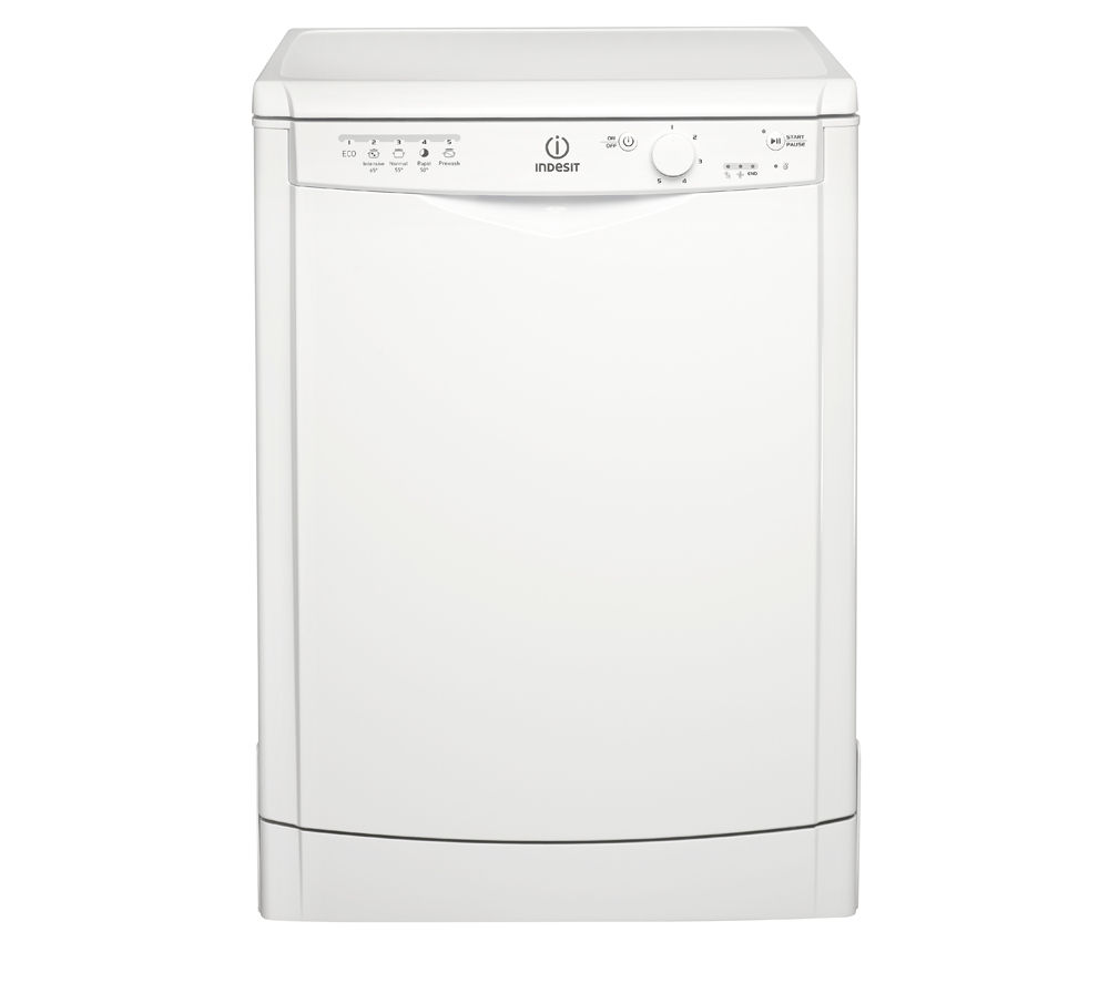 INDESIT DFG15B1 Full-size Dishwasher - White