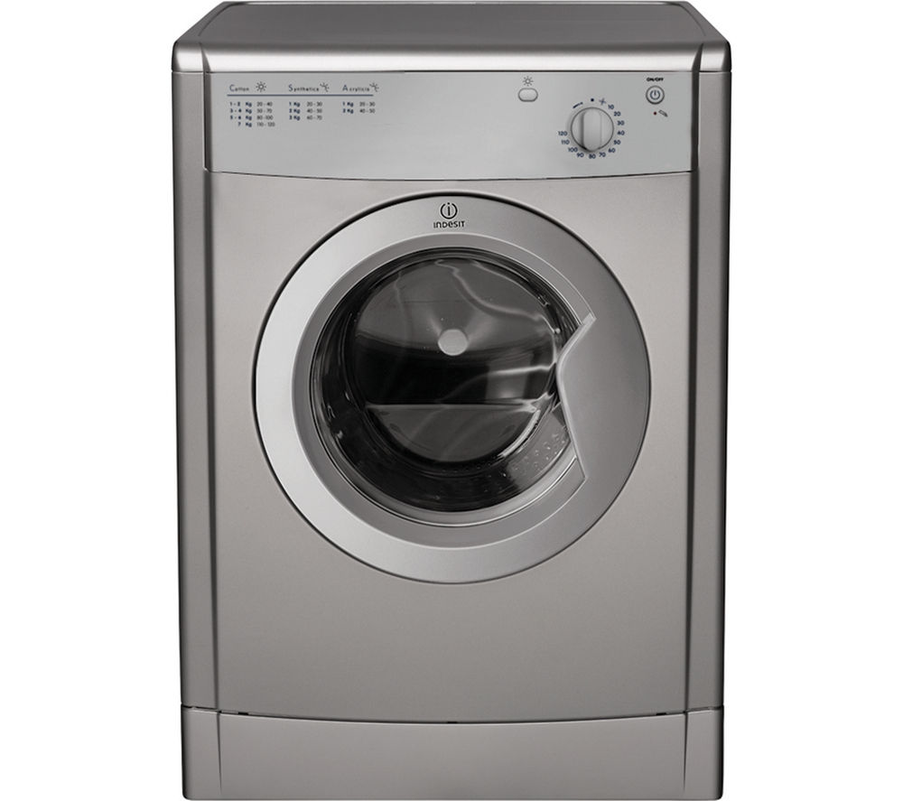 Image of INDESIT IDV75S Vented Tumble Dryer - Silver, Silver
