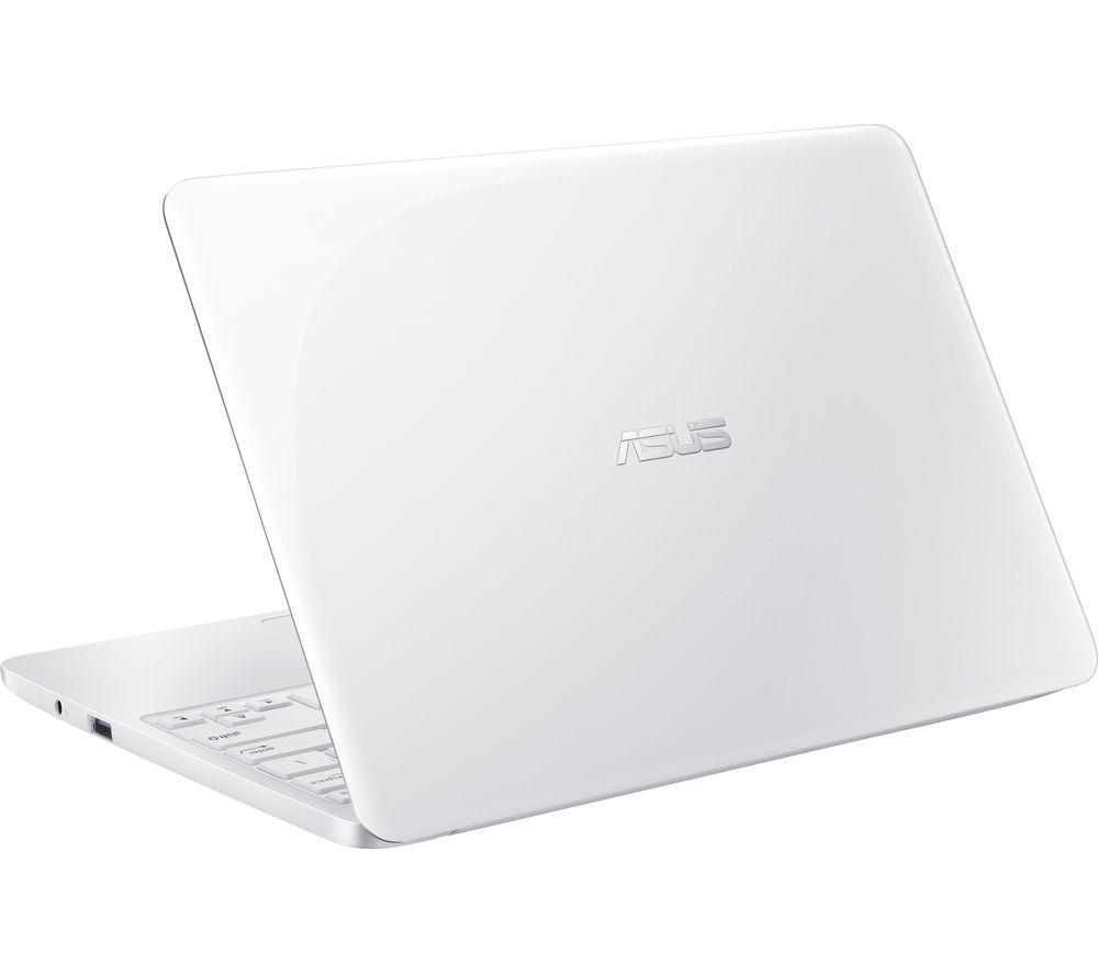 """ASUS E200HA 11.6"""" Laptop - White"""