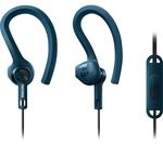 PHILIPS ActionFit SHQ1405BL/00 Headphones - Blue