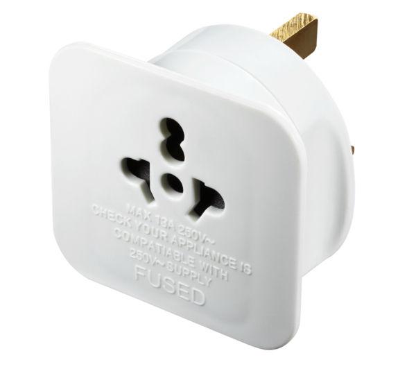 Image of MASTERPLUG TAVUK-MP Universal to UK Plug Adapter