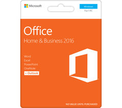 MICROSOFT Office Home & Business - Lifetime for 1 user