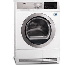 AEG T97689IH3 Condenser Tumble Dryer - White