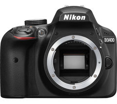 NIKON D3400 DSLR Camera - Black, Body Only