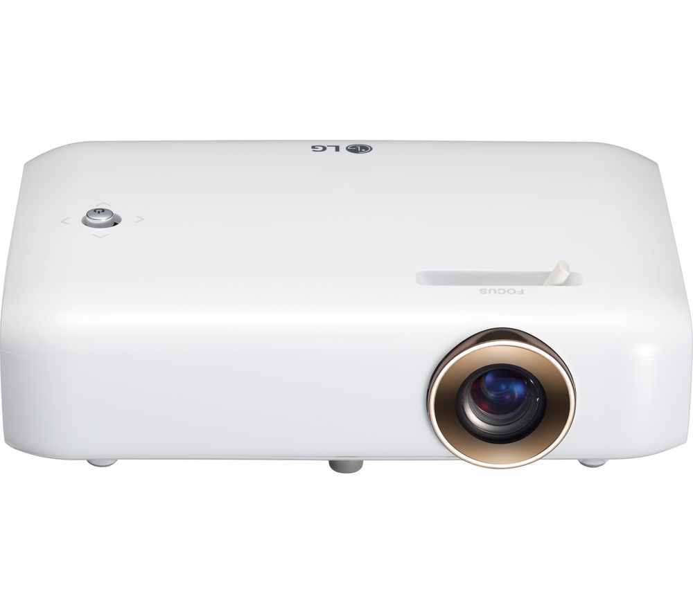 Lg ph550g hd ready mini projector deals pc world for Miniature projector