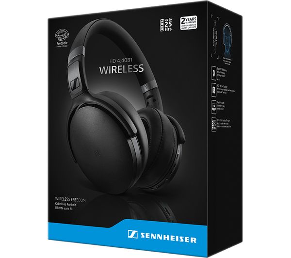 SENNHEISER HD4 40BT Wireless Bluetooth Headphones - Black
