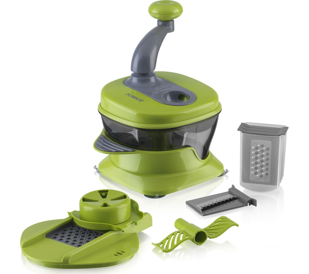 TOWER Kitchen Plus Slicer - Green