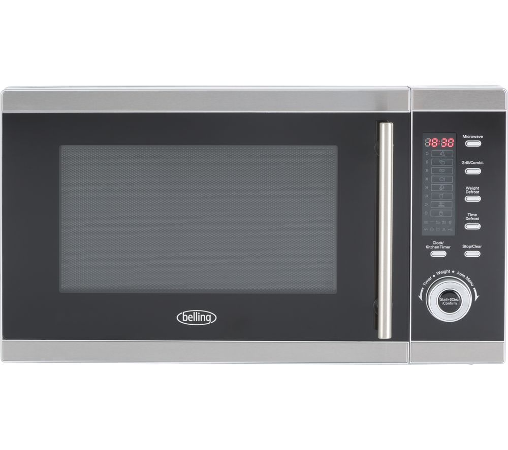 BELLING FM2590G Microwave with Grill - Stainless Steel
