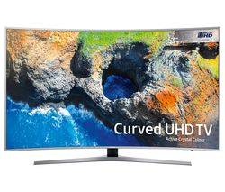 "SAMSUNG 65MU6500 65"" Smart 4K Ultra HD HDR Curved LED TV"