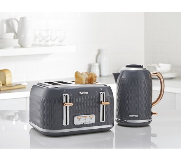 Buy Breville Curve Vkt118 Jug Kettle Grey Amp Rose Gold