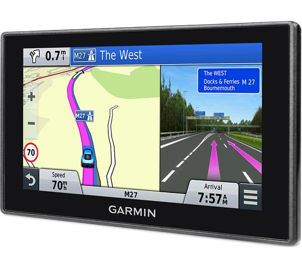 Ireland and Full Europe Garmin 010-01682-13 DriveAssist 51LMT-D 5 Inch Sat Nav with Built-In Dash Cam Black Lifetime Map Updates for UK Digital Traffic and Wi-Fi