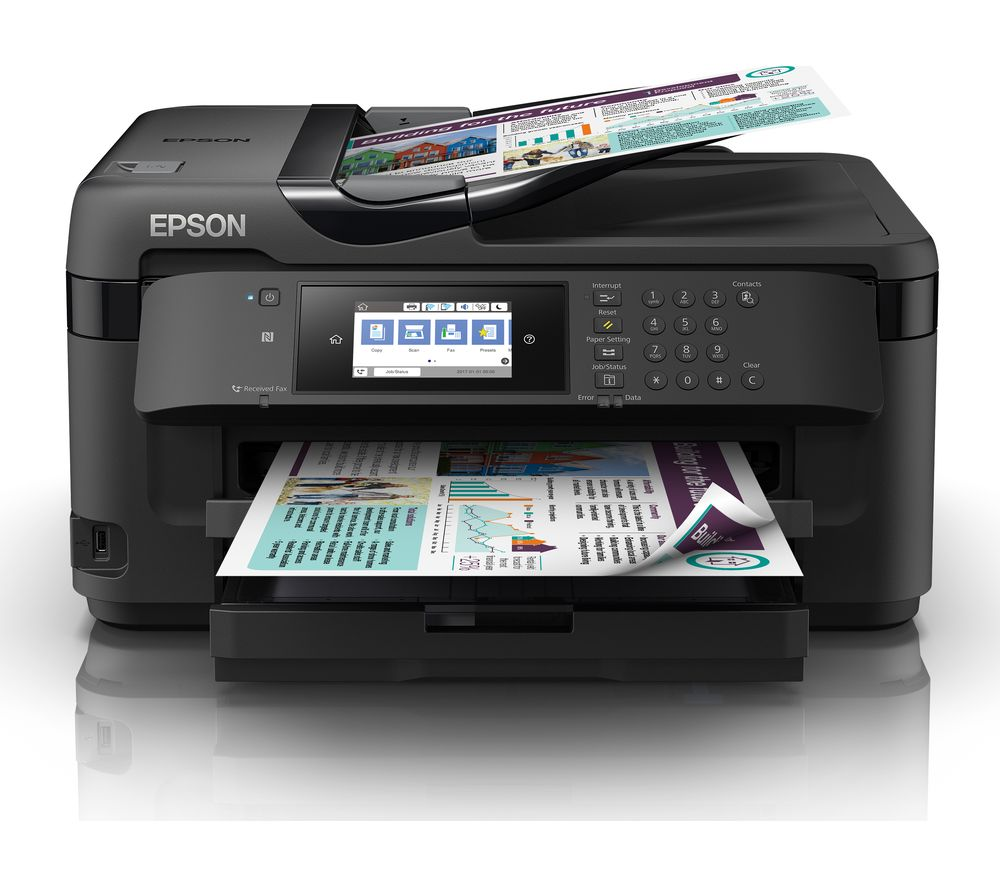 buy epson workforce wf 7715dwf all in one wireless a3 inkjet printer