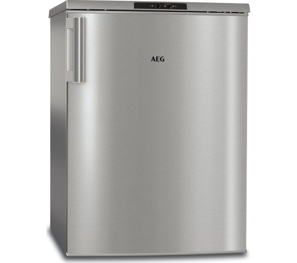 Image of AEG ATB81121AX Undercounter Freezer - Silver & Stainless Steel, Stainless Steel