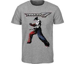 TEKKEN 7 T-Shirt - 2XL, Grey