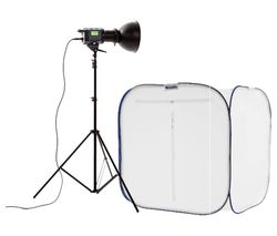 LASTOLITE by Manfrotto Cubelite Fluorescent Studio Lighting Kit