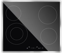 GRUNDIG GIEV613420E Electric Ceramic Hob - Black Best Price, Cheapest Prices
