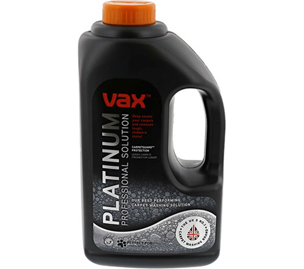 VAX Platinum Professional Carpet Cleaning Solution - 1.5 Litres