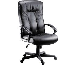 TEKNIK Gloucester Leather Reclining Executive Chair - Black