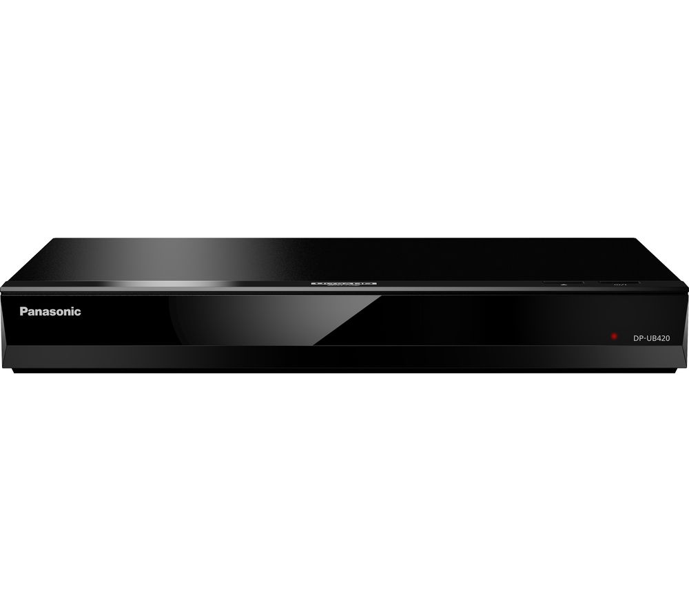 PANASONIC UB420 Smart 4K Ultra HD Blu-ray & DVD Player, Gold