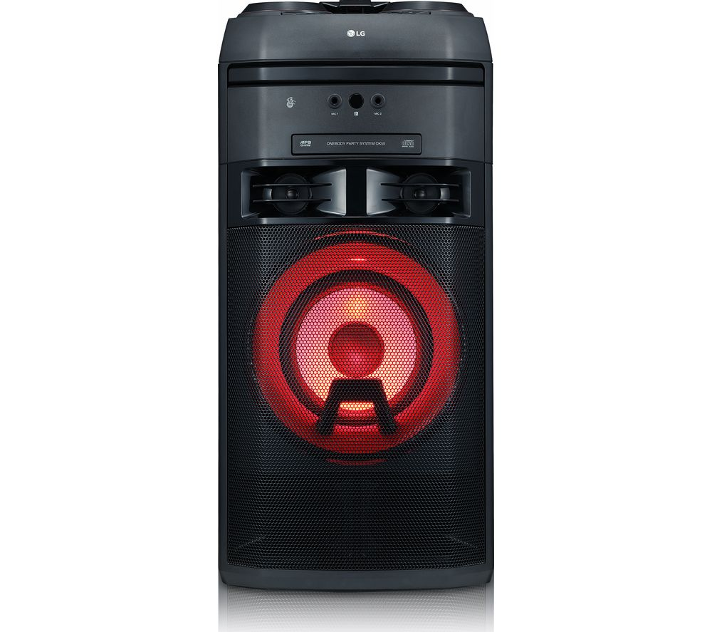 LG XBOOM OK55 Megasound Party Hi-Fi System - Black