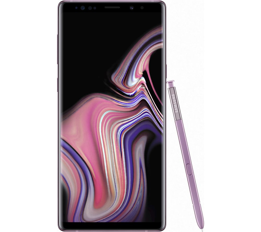 SAMSUNG Galaxy Note 9 - 128 GB, Lavender Purple