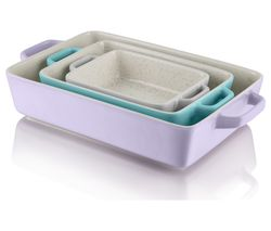SWAN Fearne SWBW1030N Rectangular 3-piece Oven Dish Set
