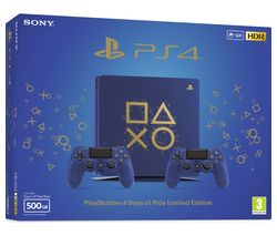 SONY PlayStation 4 Slim Days of Play Limited Edition - 500 GB