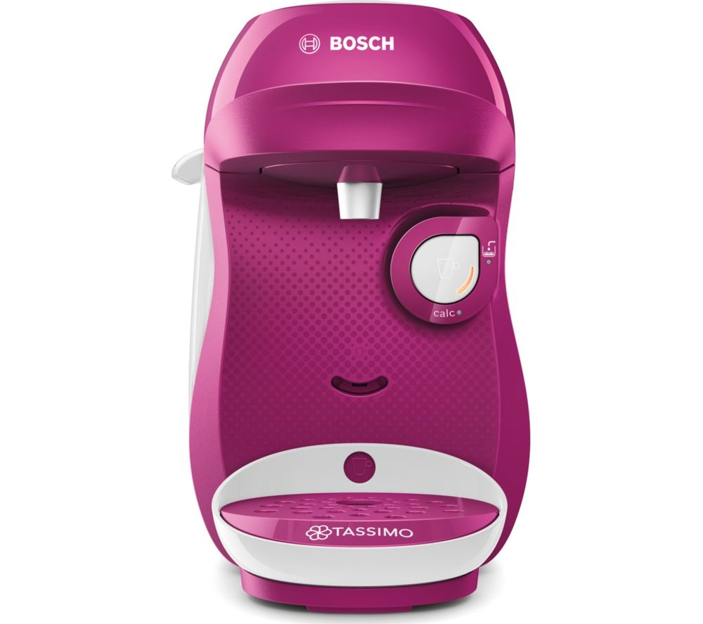 TASSIMO by Bosch Happy TAS1001GB Coffee Machine - Purple & White
