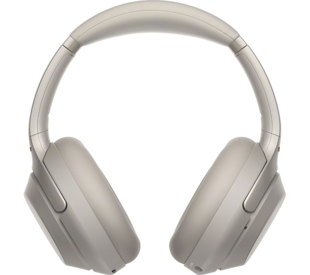 SONY WH-1000XM3 Wireless Bluetooth Noise-Cancelling Headphones - Silver