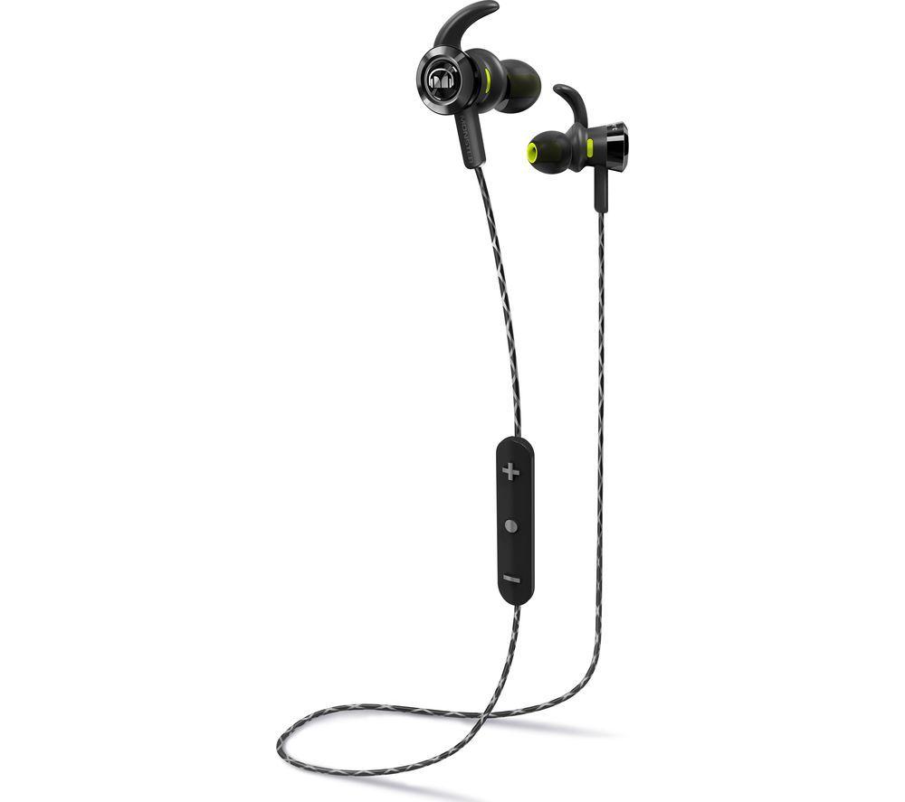 MONSTER iSport Victory Wireless Bluetooth Headphones - Black