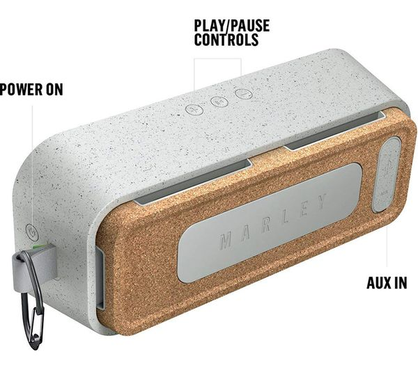 HOUSE OF MARLEY No Bounds XL Portable Bluetooth Speaker - Grey