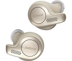 JABRA Elite 65t Wireless Bluetooth Headphones - Gold Beige