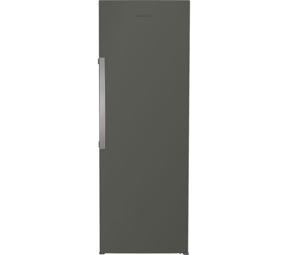 GRUNDIG GSL1671G Tall Fridge - Graphite, Graphite