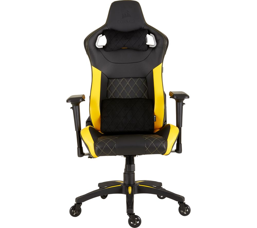 Buy Corsair T1 Race Gaming Chair Black Amp Yellow Free