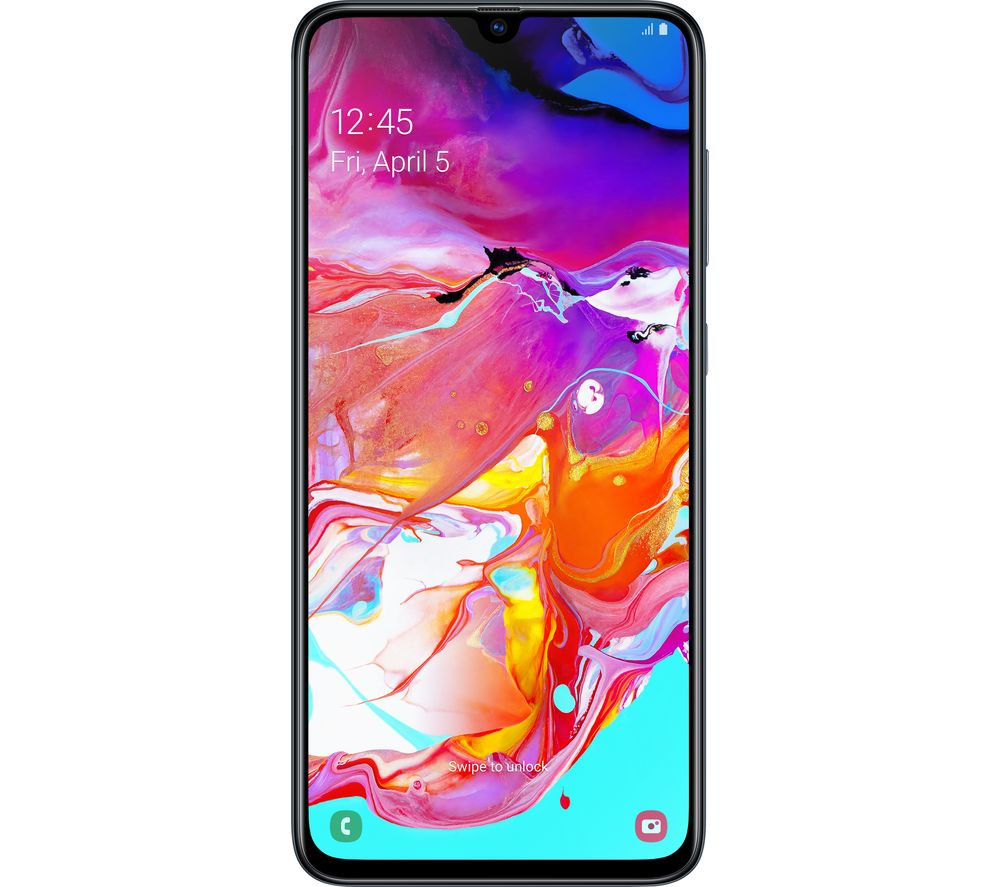 SAMSUNG Galaxy A70 - 128 GB, Black