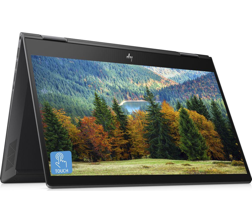 """HP ENVY x360 13.3"""" AMD Ryzen 7 2 in 1 Laptop - 512 GB SSD, Black"""