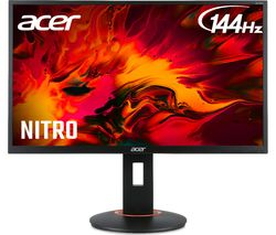 "ACER XF240Hbmjdpr Full HD 24"" TN LCD Gaming Monitor - Black"